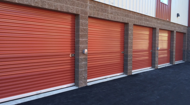 Drive up access storage units at Armor Storage in Lacey, WA
